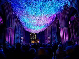 Liverpool Cathedral Peace Doves finally take flight