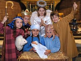 The Nativity comes to life at Liverpool Cathedral