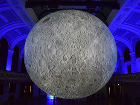 Museum of the Moon shines its light over Birkenhead