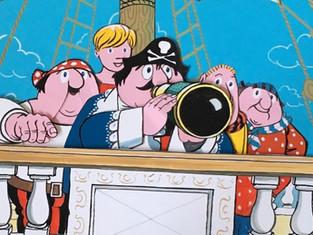 Blistering Barnacles! Captain Pugwash sails into Southport