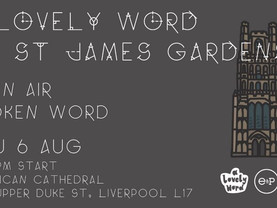 Poetry and performance comes to St James' Gardens