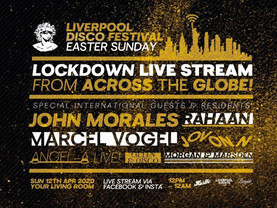 Liverpool Disco Festival 12-hour Easter party online