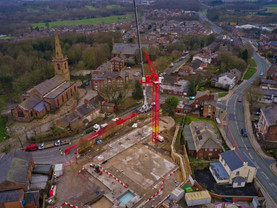 Shakespeare North Playhouse work lifts off