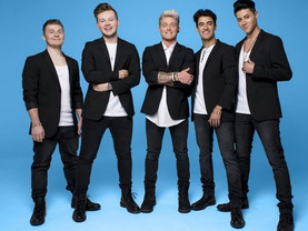 The Band are ready to let it shine in Take That musical