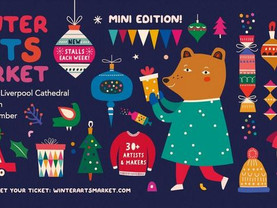 Winter Arts Market makes mini return to Liverpool Cathedral