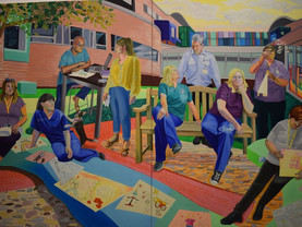 Tate Liverpool exhibition captures Covid frontline staff on Canvas
