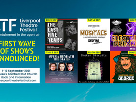 Liverpool Theatre Festival announces first shows for 2021 event