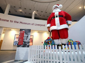 Blackler's Santa returns to Museum of Liverpool for Christmas