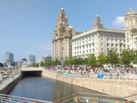 Liverpool Pier Head Village summer festival launch