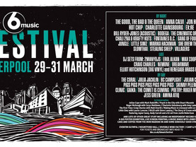 Liverpool to host BBC Radio 6 Music Festival 2019