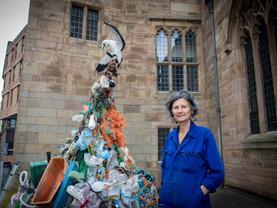 Liverpool Plinth puts plastic pollution centre stage