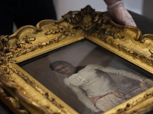 Boxer Jeb Wharton portrait returns 'home' to liverpool