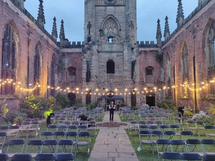 Liverpool's Little LTF reveals line up at Bombed Out Church