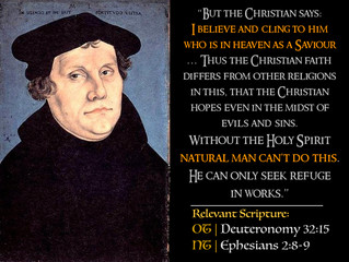Luther Quotes #21 – On The Gospel