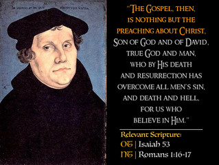 Luther Quotes #26 – On The Gospel