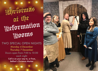 Our First Christmas Open Night
