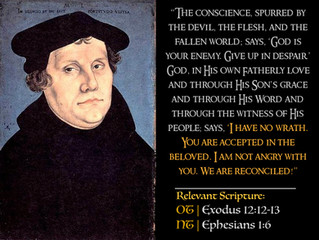 Luther Quotes #20 – Acceptance in Christ