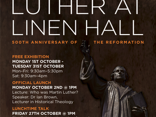 New Luther Exhibition in Belfast