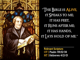 Luther Quote #8 – On Scripture