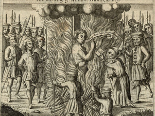 Boy Burned for Reading the Bible in English