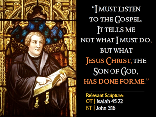 Luther Quotes #3 – On The Gospel