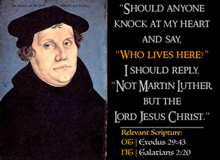 Luther Quotes #37 – The Indwelling Christ