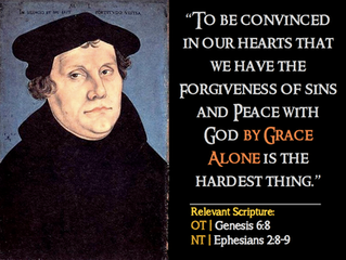 Luther Quotes #11 – On Salvation By Grace Alone