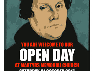 Open Day @ Martyrs this Saturday