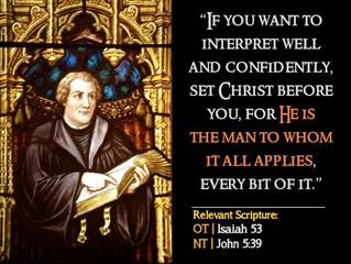 Luther Quotes #2 – On Scripture