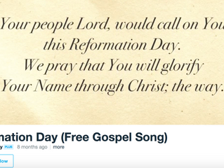 Gospel Song for Reformation Day