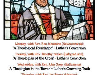 Reformation Week Messages