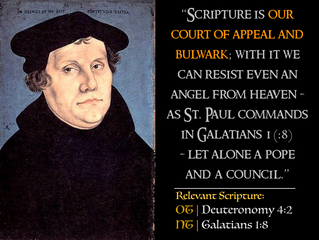 Luther Quotes #15 – On Scripture