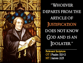 Luther Quotes #9 – On Justification
