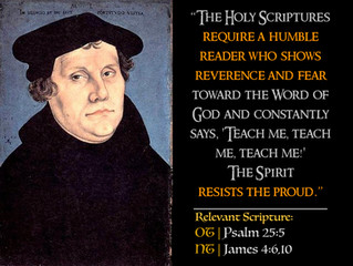 Luther Quotes #32 – On Humility