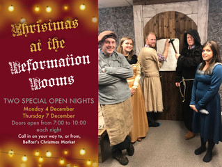 Open Nights at the Reformation Rooms