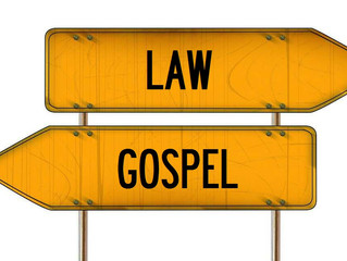 The Difference Between Law And Gospel