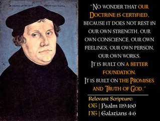 Luther Quotes #16 – On Sound Doctrine