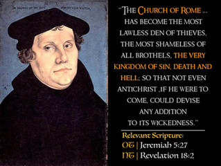 Luther Quotes #36 – The Church of Rome
