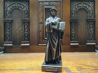 Luther in Bronze