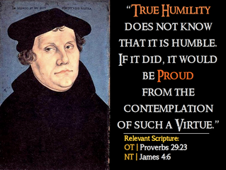 Luther Quotes #12 – On Humility