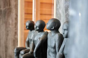 Beelden binnen privé wellness Torhout West vlaanderen brugge Ichtegem sauna zwembad hammam