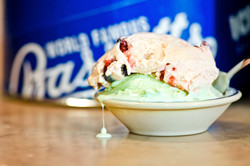 Dish of Bassetts Ice Cream