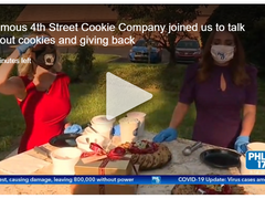 Famous 4th St Cookie Company on PHL17