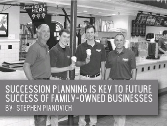 Succession planning is key to future of family-owned businesses.