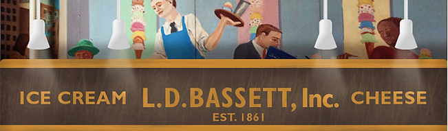 Bassetts Ice Cream banner