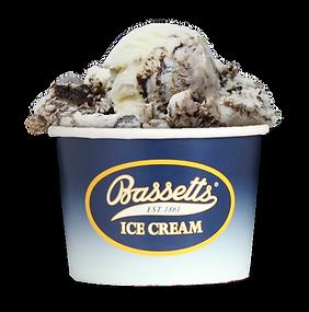 Bassetts ice cream dish