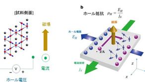 2. 低電力・高集積化を可能にする磁気メモリ材料~反強磁性体で巨大な異常ホール伝導度を持つ物質の発見~