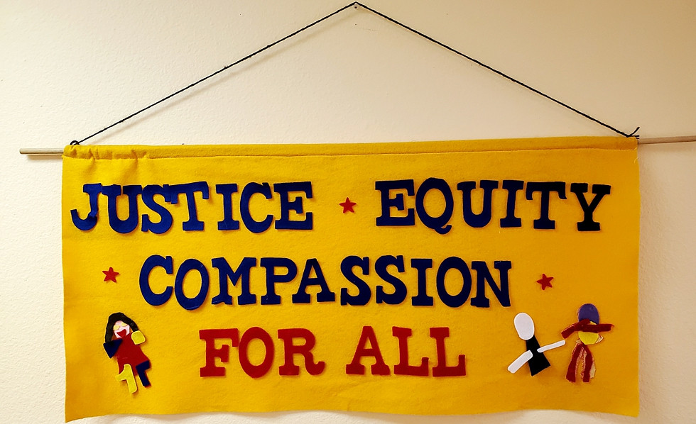 One of seven principle banners