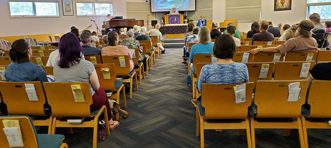Services held in Sanctuary