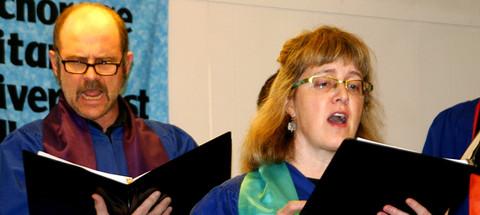 Choir members